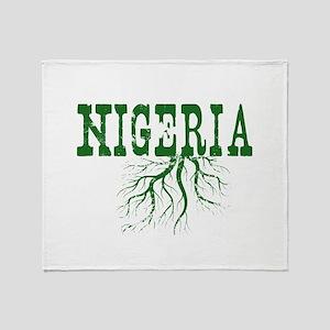 Nigeria Roots Throw Blanket