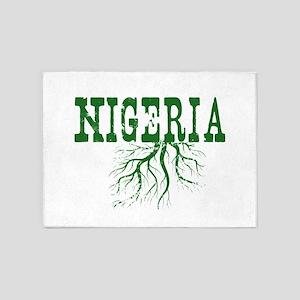 Nigeria Roots 5'x7'Area Rug