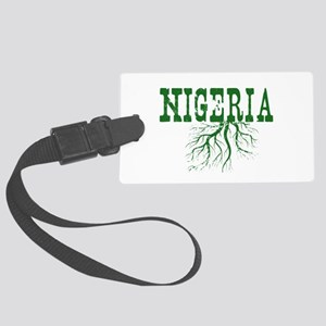 Nigeria Roots Large Luggage Tag