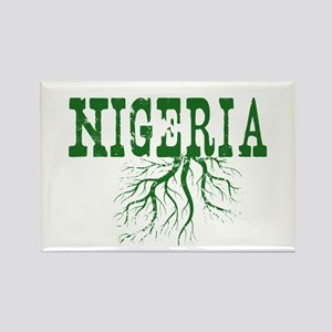 Nigeria Roots Rectangle Magnet
