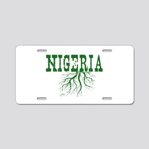 Nigeria Roots Aluminum License Plate