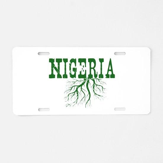 Nigeria Roots Aluminum License Plate