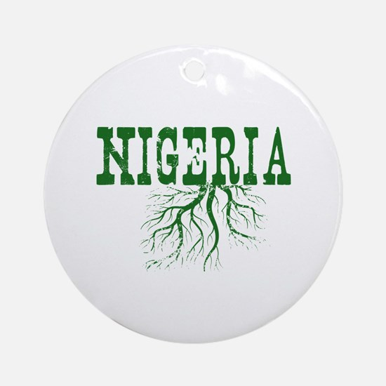 Nigeria Roots Ornament (Round)