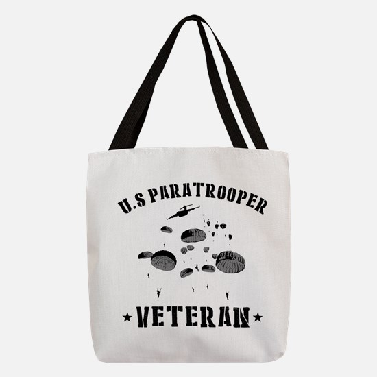 Parachuting Polyester Tote Bag
