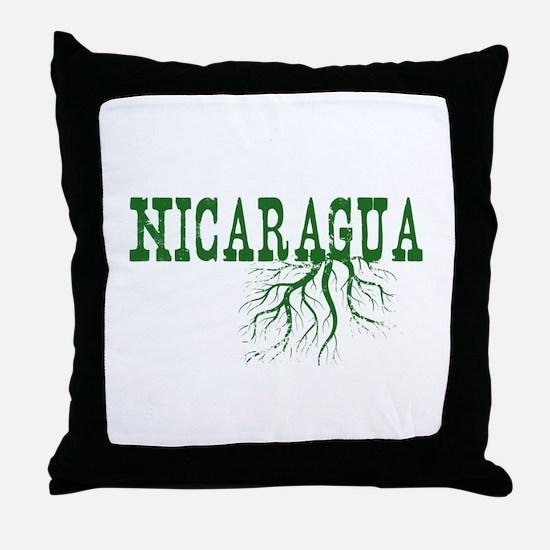 Nicaragua Roots Throw Pillow
