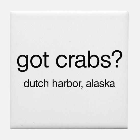 Got Crabs? Tile Coaster