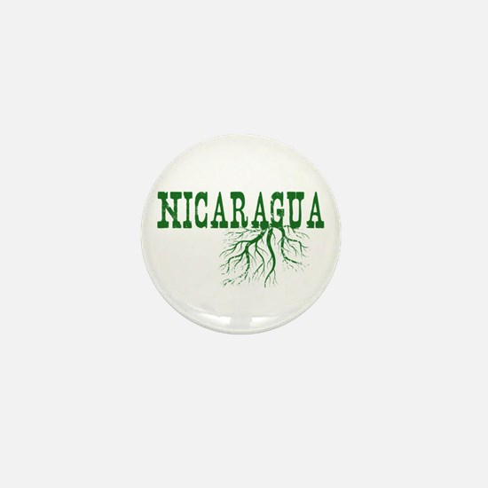 Nicaragua Roots Mini Button