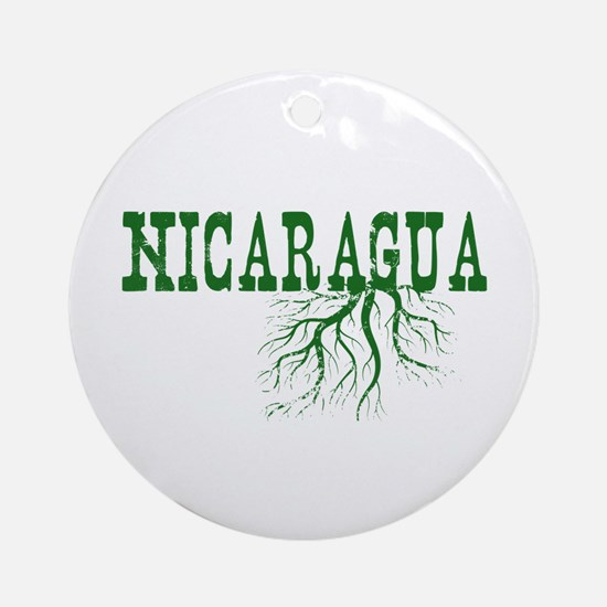 Nicaragua Roots Ornament (Round)