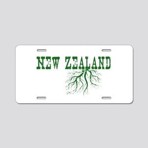 New Zealand Aluminum License Plate