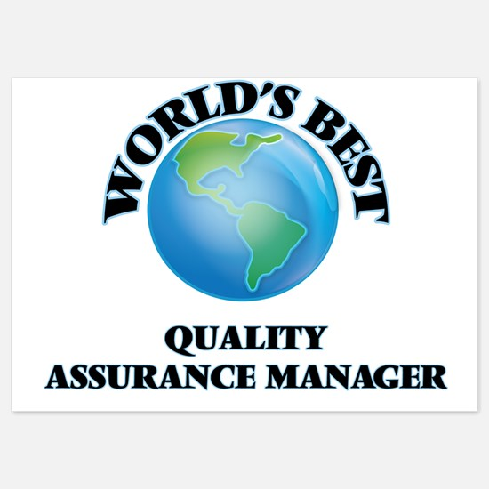 World's Best Quality Assurance Manager Invitations