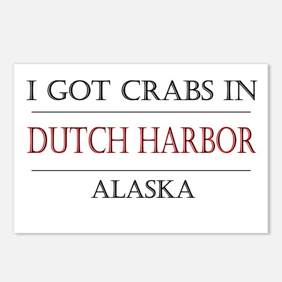 Dutch Harbor Alaska Postcards (Package of 8)