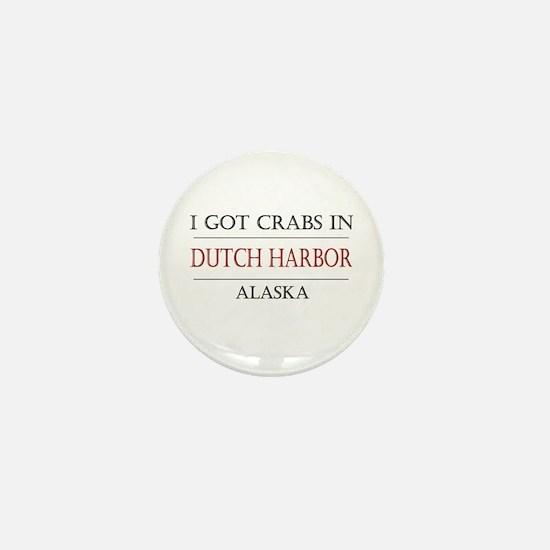Dutch Harbor Alaska Mini Button