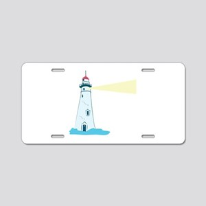 Lighthouse Aluminum License Plate