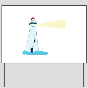 Lighthouse Yard Sign