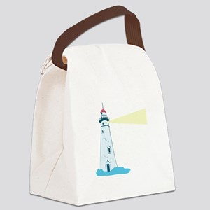 Lighthouse Canvas Lunch Bag