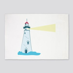 Lighthouse 5'x7'Area Rug