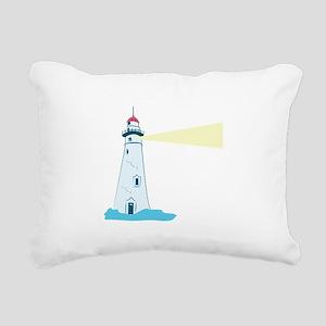 Lighthouse Rectangular Canvas Pillow