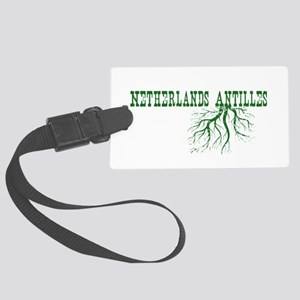 Netherlands Roots Large Luggage Tag