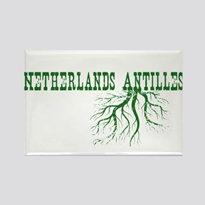 Netherlands Roots Rectangle Magnet