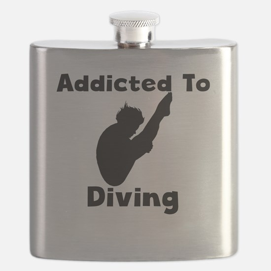 Addicted To Diving Flask