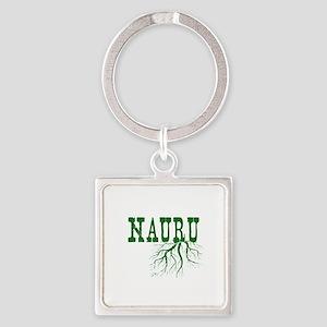 Nauru Roots Square Keychain