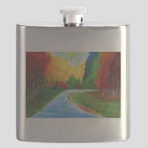 Autumn Stream Flask
