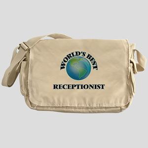 World's Best Receptionist Messenger Bag