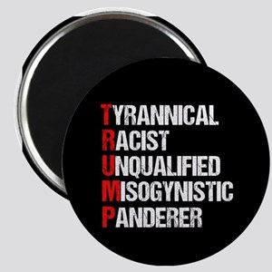 Anti Trump Acrostic Magnet