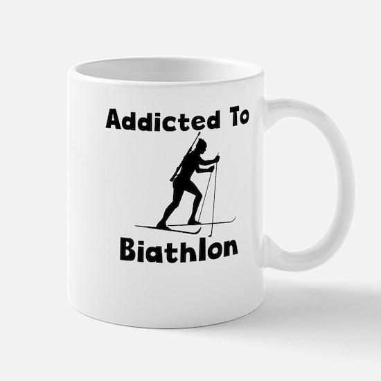 Addicted To Biathlon Mugs