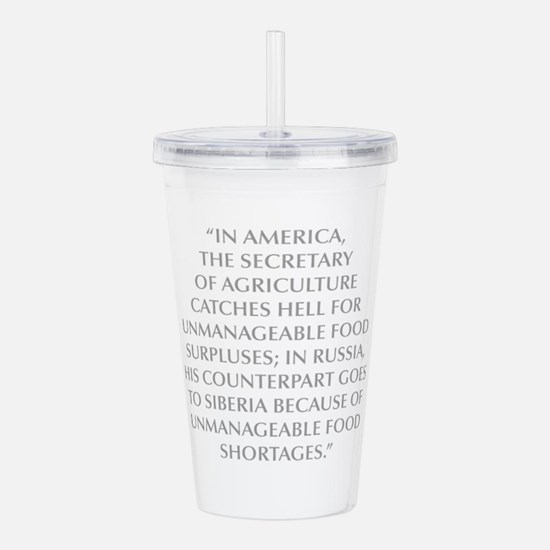 IN AMERICA THE SECRETARY OF AGRICULTURE CATCHES HE