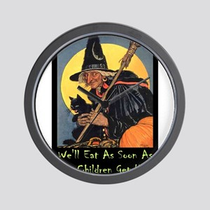 Halloween_WITCH - WELL EAT 10x14 GREEN Wall Cl