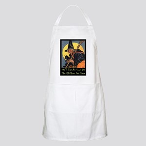 Halloween_WITCH - WELL EAT 10x14 GREEN Apron