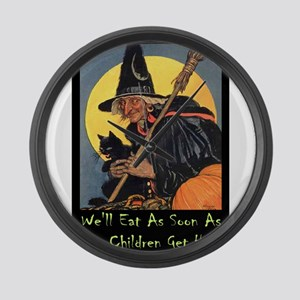Halloween_WITCH - WELL EAT 10x14 GREEN Large W