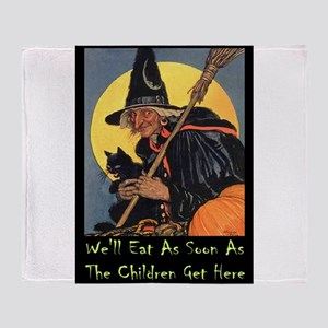 Halloween_WITCH - WELL EAT 10x14 GREEN Throw B