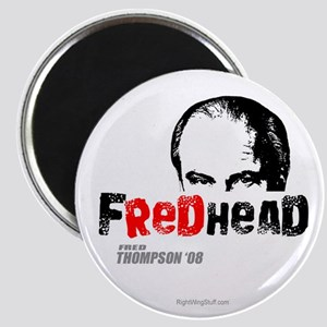 "FredHead 2.25"" Magnet (10 pack)"