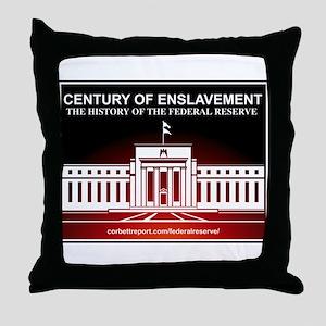 Century of Enslavement Throw Pillow