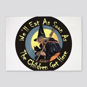Witch Well Eat RD_Button Yellow copy 5'x7'Area