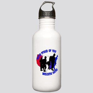 Welcome Home:We're Pro Stainless Water Bottle 1.0L