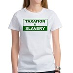Taxation is Slavery Women's T-Shirt