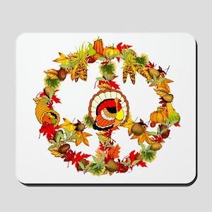 Peace Turkey Mousepad