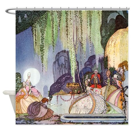 Cinderella By Kay Nielsen Shower Curtain MerryChristmas7