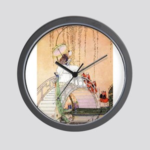 In Powder and Crinoline008 Wall Clock