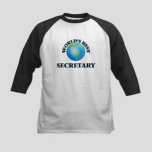 World's Best Secretary Baseball Jersey