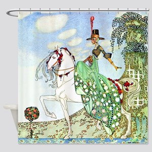 Princess Minotte by Kay Nielsen Shower Curtain