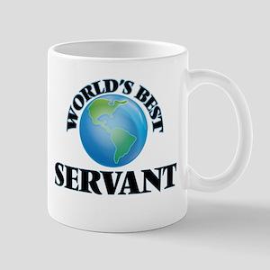 World's Best Servant Mugs