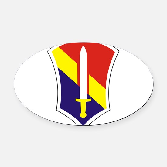 1 Field Force Vieetnam.png Oval Car Magnet
