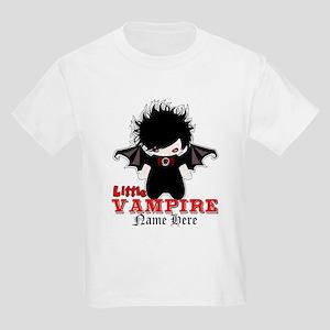 Little Vampire Custom Kids Light T-Shirt
