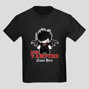 Little Vampire Custom Kids Dark T-Shirt