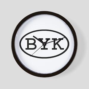 BYK Oval Wall Clock