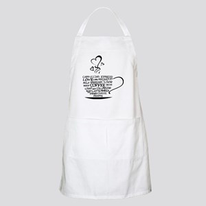 Coffee Cup Light Apron